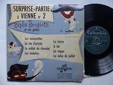 """25 cms 10"""" Surprise partie a Vienne 2 RAPHA BROGIOTTI et ses gitans 33 FP 1009"""