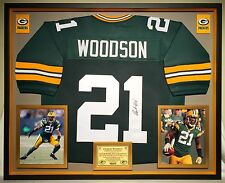29cecc8fd Premium Framed Charles Woodson Autographed Packers Jersey JSA Authenticated