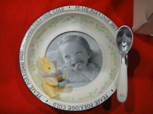 Please Porridge Hot Mealtime Picture Frame Baby Hallmark Special Moment NIB