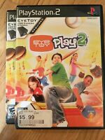 EYE TOY PLAY 2 - PS2 - COMPLETE W/MANUAL - FREE S/H (V)