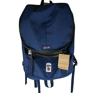 Patagonia Arbor Classic Pack 25L Backpack Navy Miller Light Logo Embroidered New