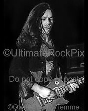 THIN LIZZY PHOTO GARY MOORE Concert Photo in 1977 by Marty Temme Les Paul 1A