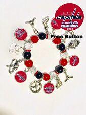 Washington Capitals Champions Bracelet Free Button