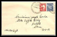 Gp Goldpath: Australia Cover 1938 To U.S.A. Cv306_P07