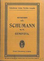 Taschenpartitur: SCHUMANN - Genoveva Op. 81