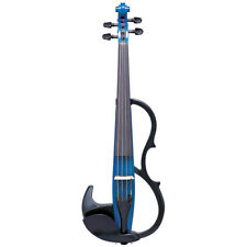 Yamaha SV200 Silent Electric Violin Blue + FREE Violin Case, Bow & Rosin