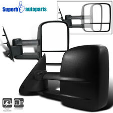 For 1997-2003 Ford F150 Light Duty Power Telescoping Tow Side Mirrors Pair