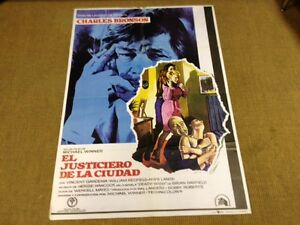 Used - The Righteous Of the City - Poster Sign Cinema - 1975