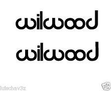 (2) 8.5 inch Wilwood Brakes Car Racing Decal Sticker