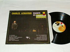 CHARLES AZNAVOUR Chante en Multiphonie Stereo LP Barclay Canada French Album GD+