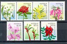 Australia--Flowers-new issue 2014 set of 7 mnh