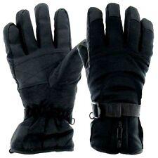 BREATHABLE WATERPROOF WINDPROOF GLOVES Mens Small Black Heavy duty Banff Winter