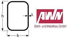 Rechteckrohr Stahlrohr Hohlprofil Vierkantrohr 1500mm L/änge 40x25x2mm