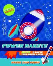 Power Raket - Reise zum Mond - Buch & Rakete von Parragon