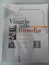 IMBIMBO*VIAGGIO NELLA FILOSOFIA 3 EPOCHE AUTORI OPERE TEMI - PALUMBO EDITORE