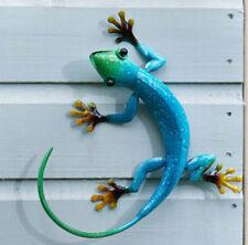 Smart Garden Flamboya Decor Gecko Azure Blue Outdoor Garden Wall Art