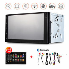 """Universal Android 6.0 7"""" 2Din InDash Car Audio Video Multimedia Player WiFi GPS"""