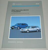 Werkstatthandbuch C-Klasse W 202 / E-Klasse W 210 T-Limousinen Buch 02/1996!