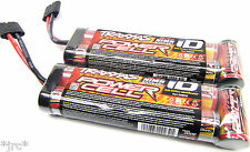 2 x NEW TRAXXAS Power Cell ID NiHM 3000Mah 8.4v Batteries E-revo E-maxx Slash