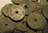 WASHINGTON TRADE TOKEN - SKYLINE HOSPITAL, WHITE SALMON, WA (LOT D 215) **RARE**