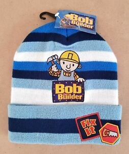 Bob The Builder – Bob Kids/Boys Beanie Hat Size 1-6 New With Tags
