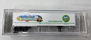 MICRO-TRAINS SPECIAL RUN N SCALE COLLECTOR DENVER COLORADO CITYSCAPE TRAILER