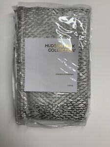 Hudson Park Collection Lustre Standard Sham SILVER $115