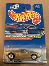 hot wheels 2000 treasure hunt ford Gt40