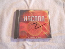 "Arcara ""A matter of time"" AOR cd 1997  Surgin Prophet New Sealed"
