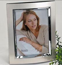685070 Fotorahmen 15x20 Champanger Silber Foto Rahmen aus Alu mit Silberrand