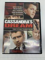 Cassandra's Dream DVD Video Widescreen English