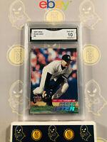 2001 Fleer Ultra Derek Jeter #2 Yankees - 10 GEM MINT GMA Graded Baseball Card