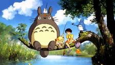 "004 My Neighbor Totoro - Hayao Miyazaki Cute Japan Anime Movie 42""x24"" Poster"