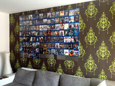 CD-Wall Blu-ray-Regal- Ihre schönsten Blurays als Wandbild, BluRay Wandregal