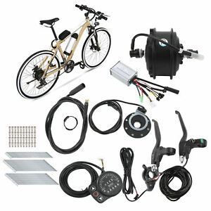 36V 250W Durable Hub Motor E‑Bicycle Conversion Accessory Kit for 700C 12G Wheel