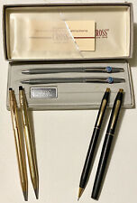 CROSS Lot Pens & Mechanical Pencils~Sets~Some Gold Filled~Some Advertising RCA+