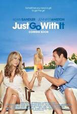 JUST GO WITH IT Movie POSTER 27x40 B