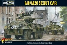WARLORD GAMES 28MM: WWII M8/M20 GREYHOUND US SCOUT CAR (PLASTIC) 13005
