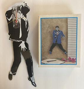 Michael Jackson Vintage Pendulum Clock Swinging Legs New In Box
