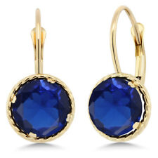 417528fe1 Drop/Dangle Sapphire Yellow Gold 14k Fine Earrings for sale | eBay
