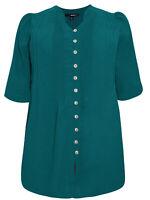 Denim 24/7 ladies blouse plus size 22 24 26 28 30 32 34 green slight seconds