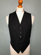 Vintage bespoke grey waistcoat size 38