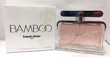 BAMBOO By Franck Olivier 2.5 oz  EDP Spray Women Perfume NIB