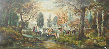 Abstrakte künstlerische Malerein mit Pferde-Motiv von 1900-1949