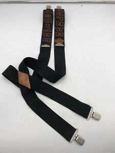 Harley-Davidson Black Suspenders - One Size Men's