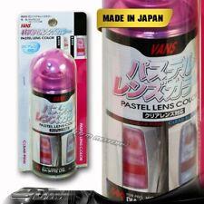 VANS Clear Pink Tint Lens Tail Head Fog Coner Bumper Light Painter Spray DIY A