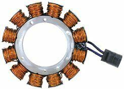 Sportster Clutch Charging System / Alternator Stator 19 Amp 84-90 HD# 29967-84A