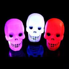 Funny Halloween Flash Skull Grimace LED Lantern Night Light Lamp Home Decoration