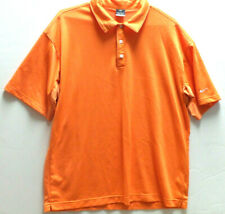 NIKE Mens Sphere Dry Golf Polo Shirt Size 2XL XXL Short Sleeve Orange