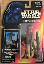 Momaw Nadon Hammerhead w/ Double Barrel Laser Power of the Force Red Card #69629